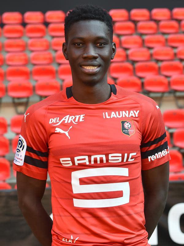 Ismaila Sarr diminati Arsenal (JEAN-FRANCOIS MONIER / AFP)