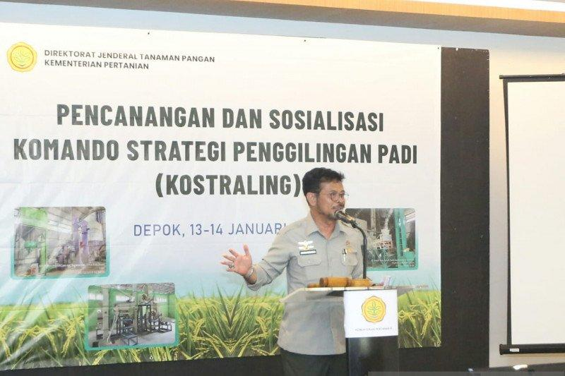 Targetkan ekspor beras 500.000 ton, Mentan libatkan penggilingan