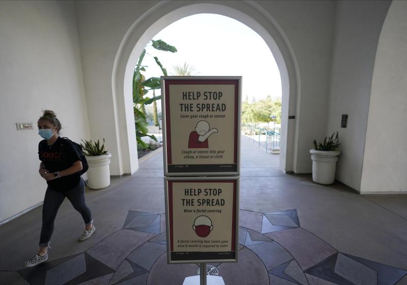 Virus Outbreak San Diego Surge
