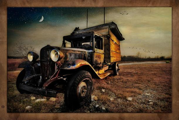 Flickr photo of the day, the old truck edition