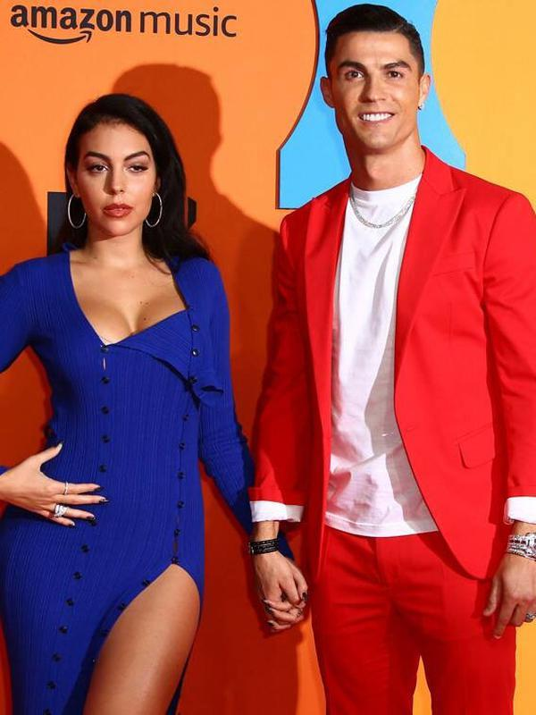 Cristiano Ronaldo bersama kekasihnya, Georgina Rodriguez. (Instagram Cristiano Ronaldo)