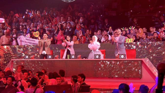 Standing Ovation Juri LIDA 2020 di Konser Top 70 Grup 3 Putih Rabu (29/1/2020) malam
