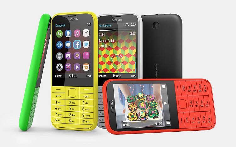 Nokia 225 1 Nokia 225: Feature Phone Tipis dengan Baterai Hingga 49 jam ponsel news mobile gadget