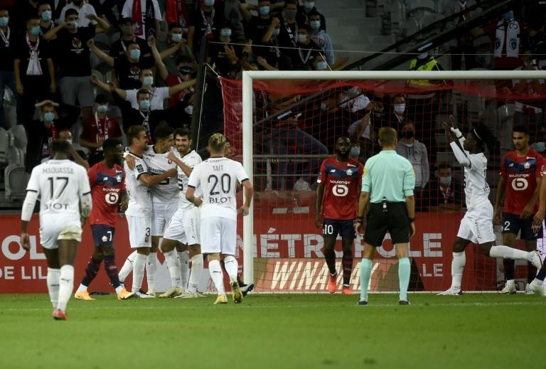 Champions League new boys Rennes held at Lille