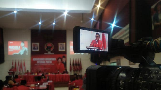 Sekjen DPP PDI Perjuangan, Hasto Kristiyanto (Foto: Liputan6.com/Dian Kurniawan)