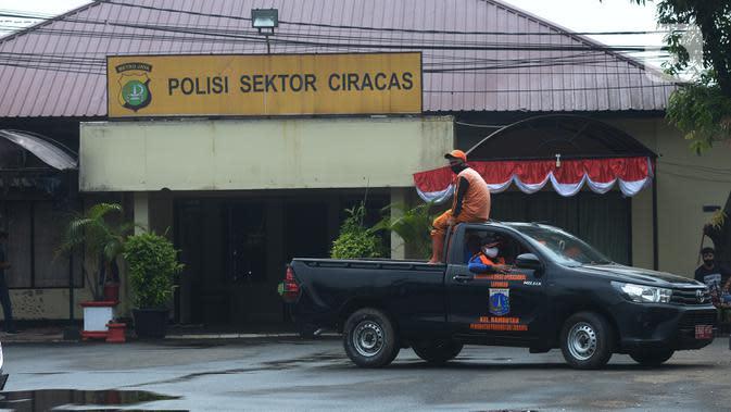 Puspom TNI AD Tahan 29 Personel Tersangka Penyerang Polsek Ciracas