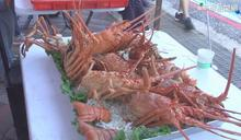 澎湖跨海馬拉松 龍蝦.花枝丸吃到飽