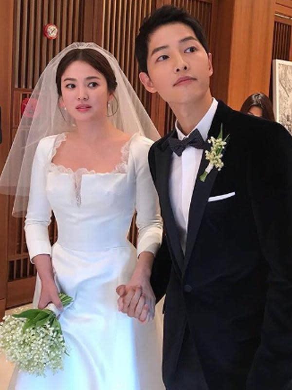 Song Joong Ki dan Song Hye Kyo (Liputan6.com/IG/songjoongkionly)