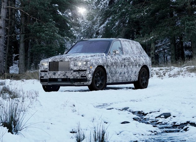 Rolls-Royce首款全地形SUV正式命名Cullinan、以全球最大無瑕美鑽之名定義奢華!