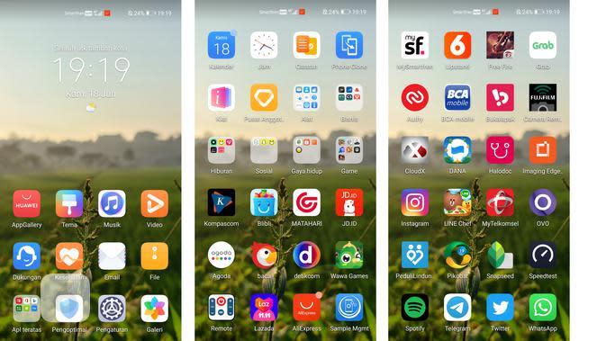 EMUI 10.1 pada Huawei P40 Pro Plus (Liputan6.com/Agustin Setyo W)