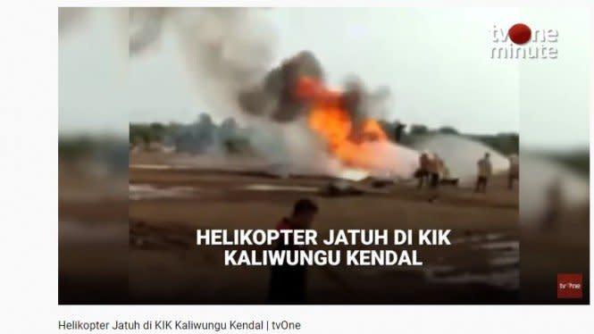 TNI AD Investigasi Jatuhnya Helikopter MI-17, Kirim Black Box ke Rusia