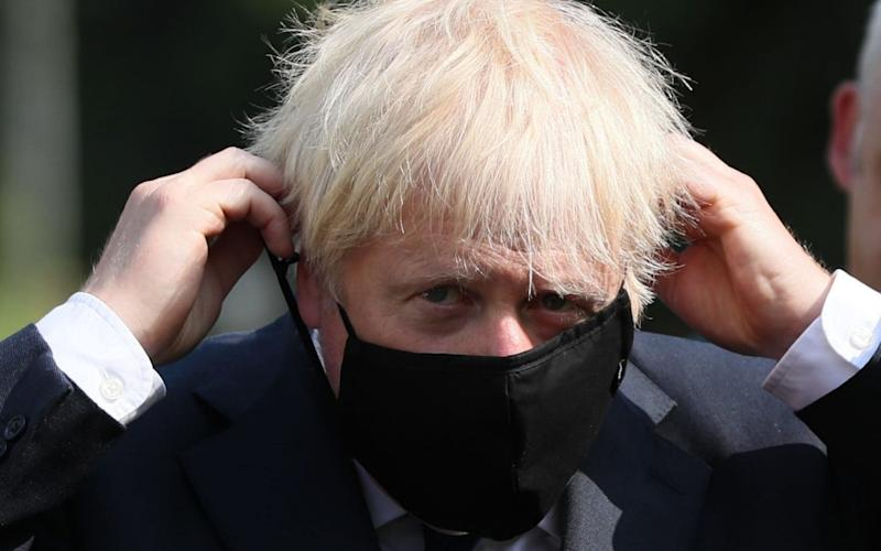 Boris Johnson said people 'must remain focused, and we cannot be complacent' - Brian Lawless/AFP