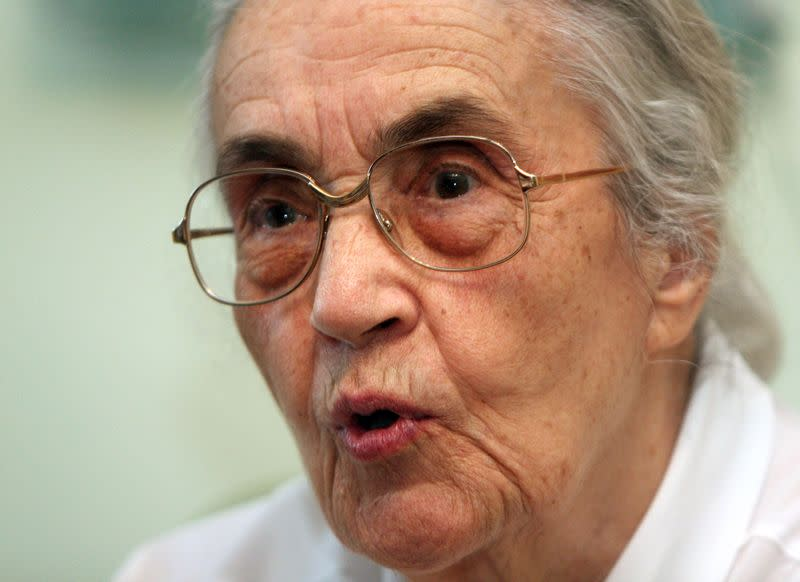 Albanian dictator Hoxha's widow, his staunchest defender, dies at 99
