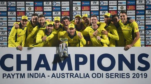 Australia won a thrilling one-day series with India ahead of the World Cup in England and WalesMore