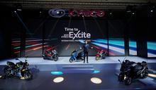 【有影】光陽「紅、黃、白、電」4款新車首曝光 柯勝峯宣布RevoNEX歐洲設生產基地