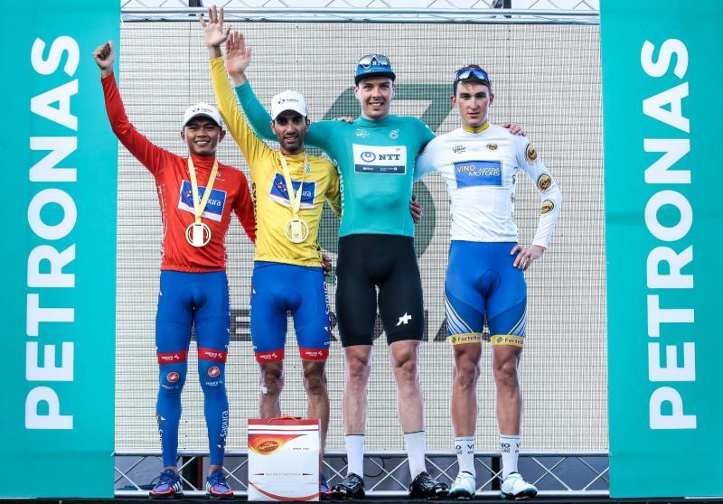The Le Tour de Langkawi final podium