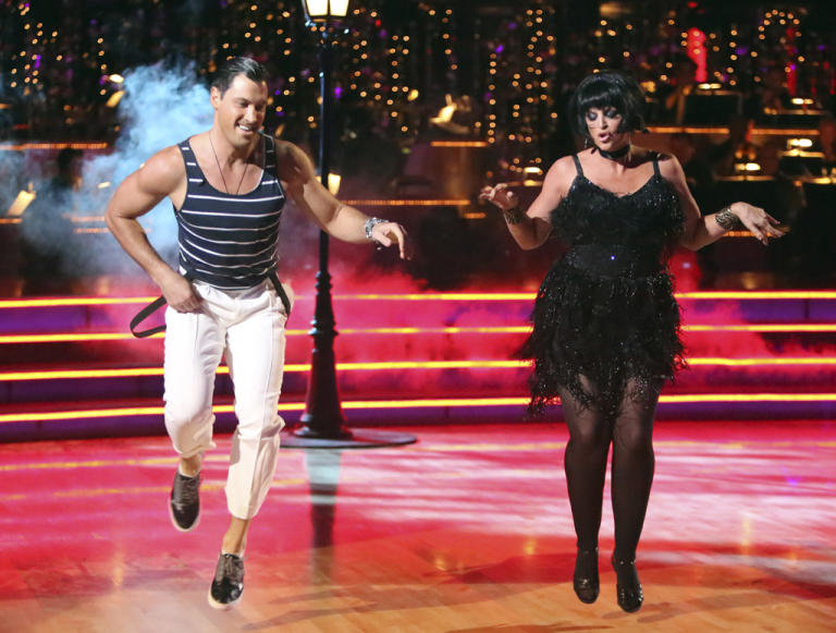 Maksim Chmerkovskiy and Kirstie Alley (10/1/12)