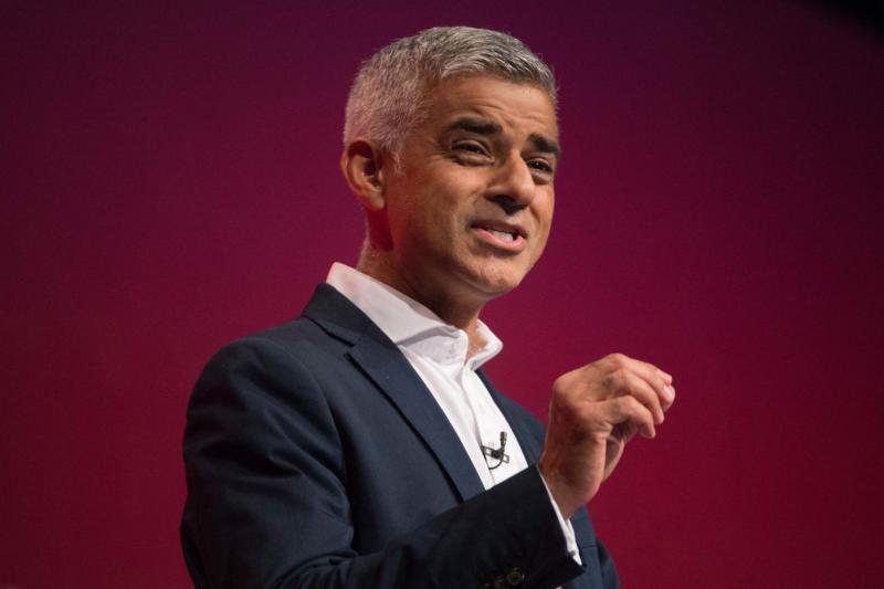London Mayor Sadiq Khan confirmed the Congestion Charge increase yesterday: PA