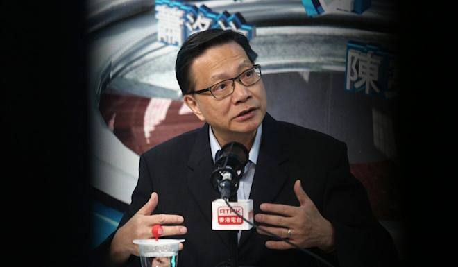 Former transport and housing minister Anthony Cheung. Photo: Jonathan Wong