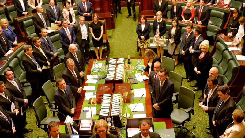 The Victorian parliament has introduced new rules requiring ministers to actually answer questions.