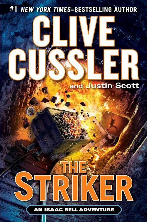 "This book cover image released by Putnam shows ""The Striker,"" by Clive Cussler and Justin Scott. (AP Photo/Putnam)"