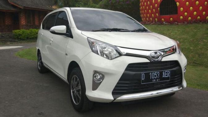 Toyota Calya langsung menjadi primadona (Gesit/Liputan6.com)