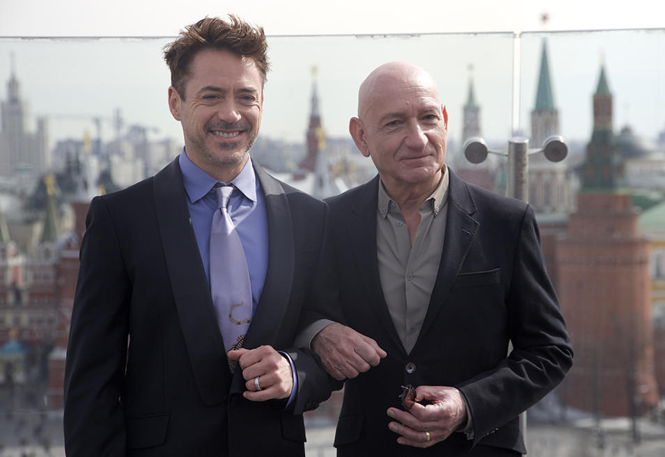 Robert Downey Jr, Ben Kingsley