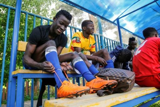 Many African players who come to Russia with promises of lucrative careers end up with their dreams shattered