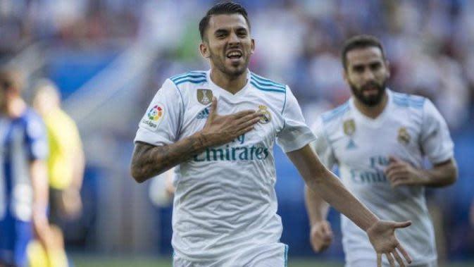 Dani Ceballos cetak dua gol saat Real Madrid mengalahkan Deportivo Alaves 2-1 (Foto: Marca)