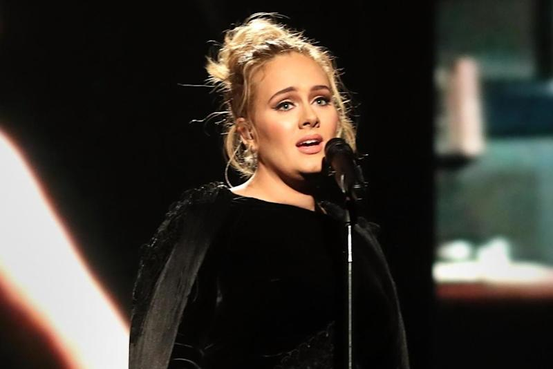 Adele publicly supported Trump's rival Hilary Clinton (Getty Images for NARAS)