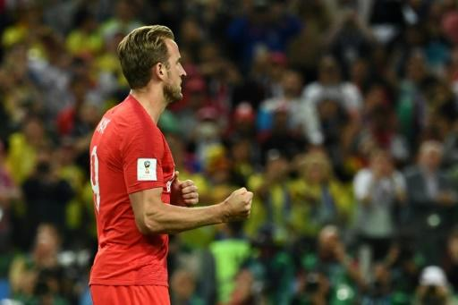 Front runner: Harry Kane extended his lead in the race for the Golden Boot