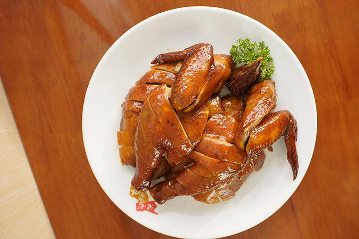 Enjoy silky, tender soya chicken when Kam's Roast opens from this Thursday