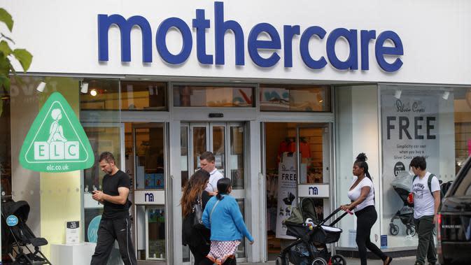 Mothercare di Wood Green High Street di London, Inggris. (Tolga Akmen / AFP)