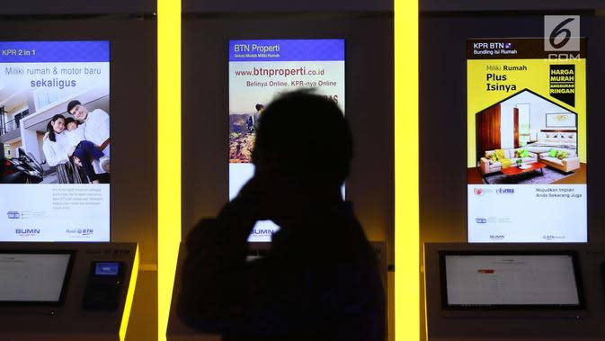 PT Bank Tabungan Negara (Persero) Tbk meluncurkan Plaza KPR dan KPR Hotline di Jakarta, Selasa (12/12). contact center yang dibuka untuk memberikan segala informasi mengenai produk KPR baik subsidi maupun non-subsidi. (Liputan6.com/Angga Yuniar)