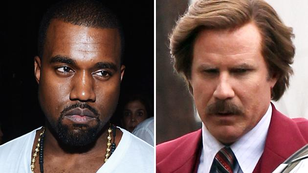 Kanye West Brings Some Power to 'Anchorman 2′