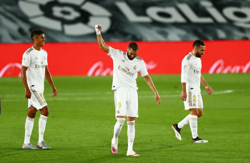 Stunning Benzema strike crowns Real win over Valencia