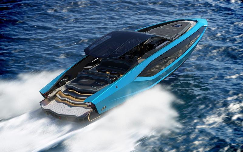 Tecnomar for Lamborghini 63 speedboat