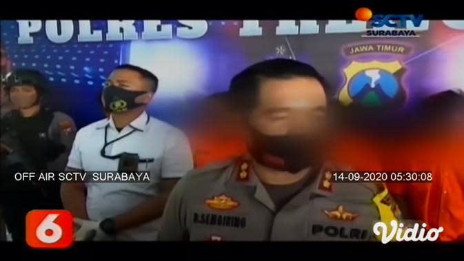 VIDEO: Alasan 5 Pemuda Lempar Bom Molotov di Dua Rumah Trenggalek