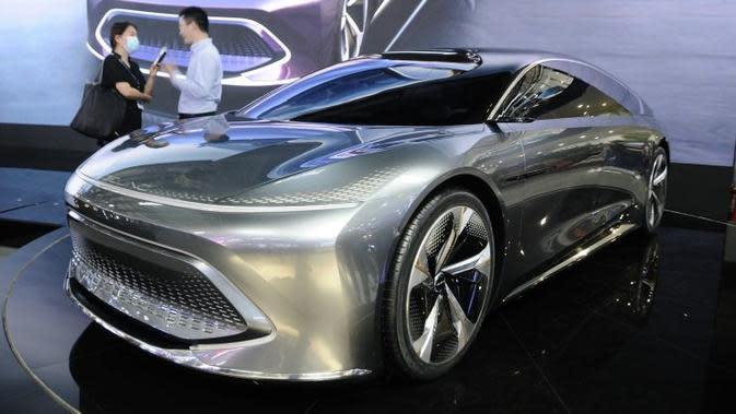 Calon Pesaing Tesla Model S Punya Desain Futuristik dan Daya Jelajahnya Memukau