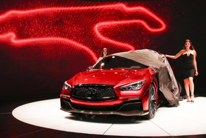 Infiniti unveils Q50 Eau Rouge concept and wants to hear your feedback
