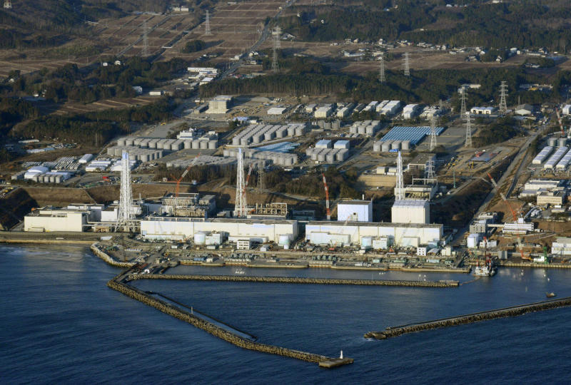 An aerial view shows Tokyo Electric Power Co's (Tepco) tsunami-crippled Fukushima Daiichi nuclear power plant in Fukushima Prefecture in this March 11, 2013 file photo. – Reuters pic