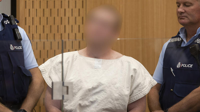 Christchurch gunman appears in court for 2nd time