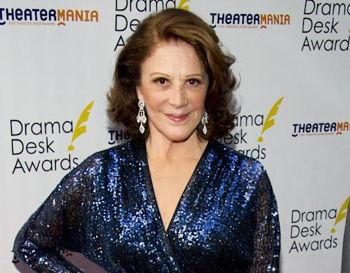 """FILE - This June 3, 2012 file photo shows actress Linda Lavin at the 57th Annual Drama Desk Awards in New York. Lavin and Debbie Gravitte are headlining the third annual concert to benefit the Pulmonary Fibrosis Foundation. The event set for Feb. 25, 2013, at Birdland Jazz Club will also feature actress Emily Bergl from """"Cat on a Hot Tin Roof"""" and singer Max von Essen, from """"Evita."""" (Photo by Charles Sykes/Invision/AP, file)"""
