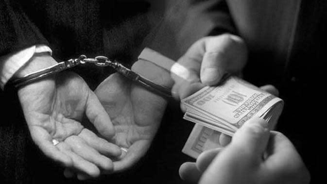 Ilustrasi Korupsi.