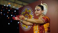 印度排燈節晚會台北賓館登場 傳統舞蹈演出 (圖)