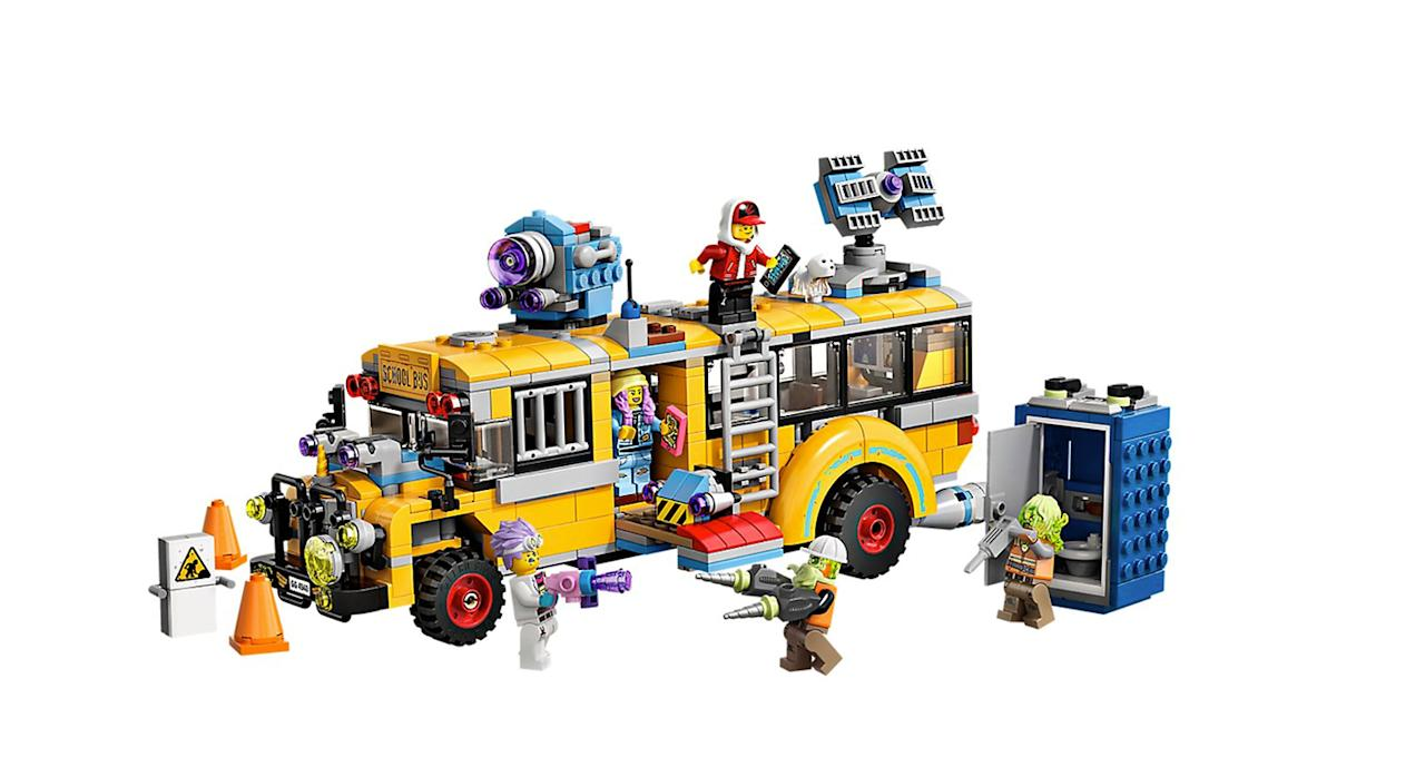 """This is Lego's first augmented reality game. It comes to life when you power it up on your phone, offering an exciting immersive experience for all the family. Suitable for ages 8+. <a href=""""https://www.amazon.co.uk/LEGO-70423-Construction-Interactive-minifigures/dp/B07ND99DMY/ref=asc_df_B07ND99DMY?tag=yahooukedit-21"""">Shop here.</a>"""