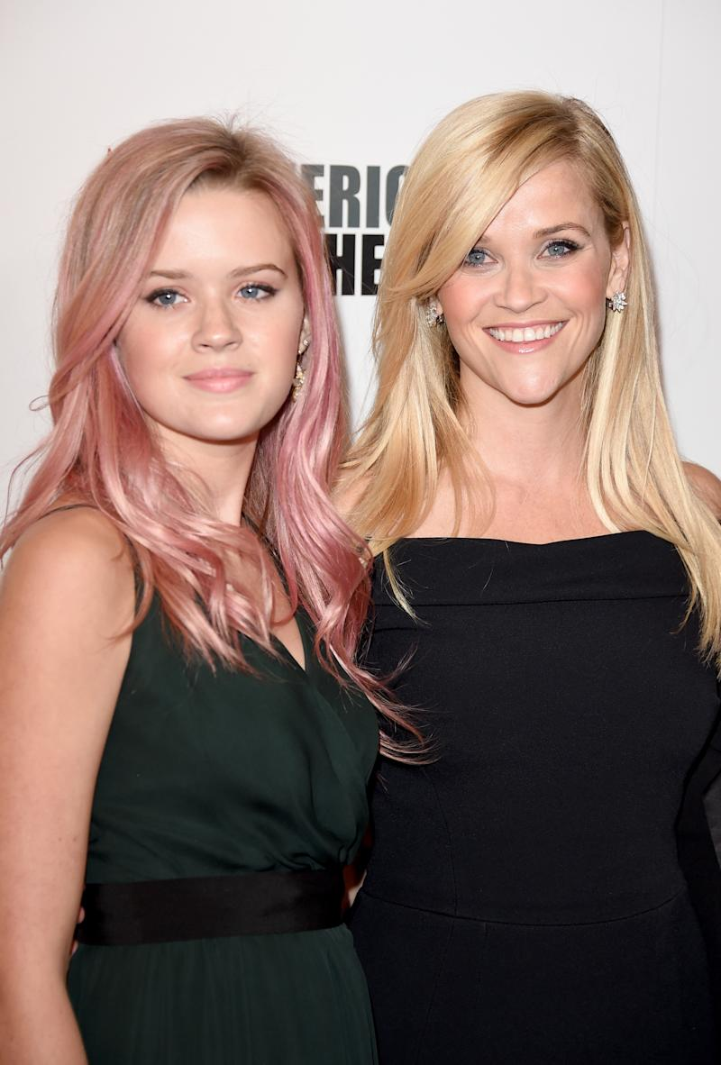 Ava Phillipe and mum Reese Witherspoon are strikingly similar. Photo: Getty Images