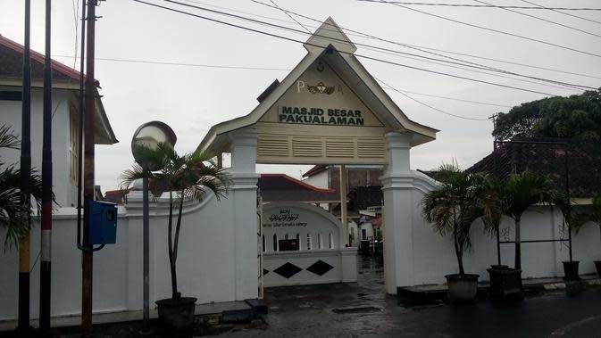Masjid Besar Pakualaman sempat dikelola masyarakat sehingga bentuknya aslinya berubah. (Liputan6.com/Yanuar H)