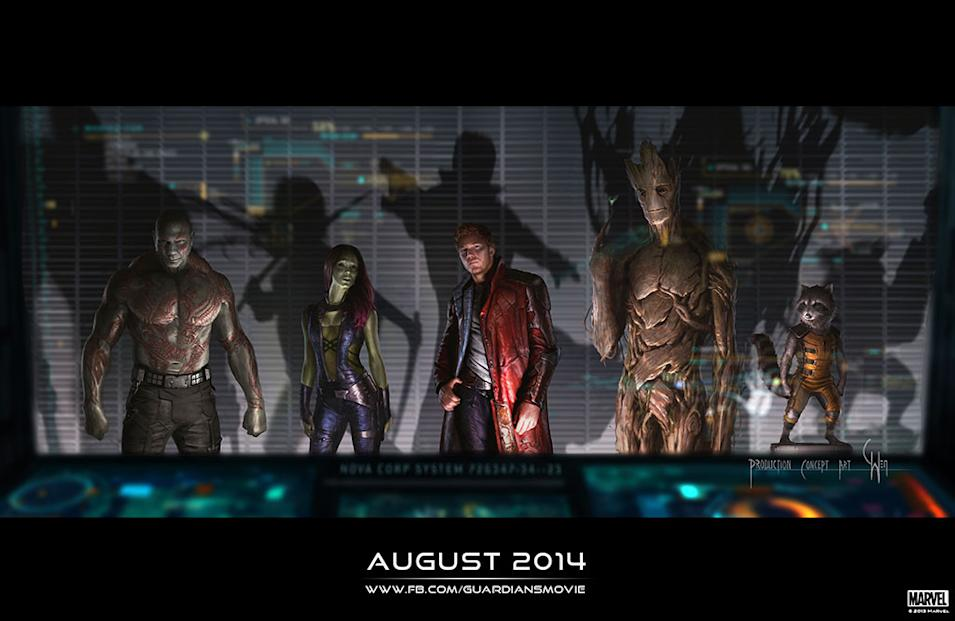 Guardians of the Galaxy Comic-Con