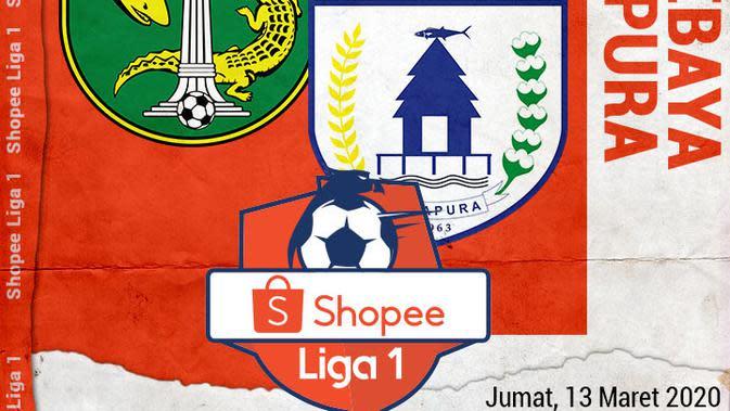 Shopee Liga 1 - Persebaya Surabaya Vs Persipura Jayapura (Bola.com/Adreanus Titus)